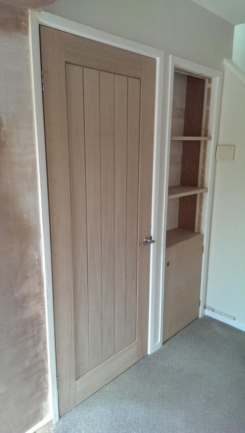 Solid-wood-door
