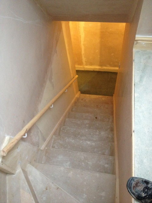 Loft-conversion-stairs-down