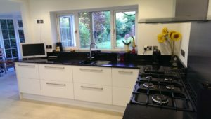 Mark Aucott Developments Example of Kitchen Installation modern